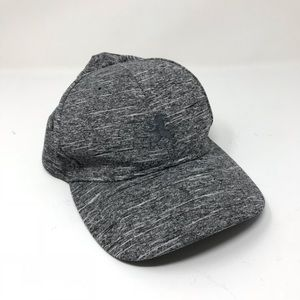 Express Men's Sz L/XL Baseball Hat Marled Gray